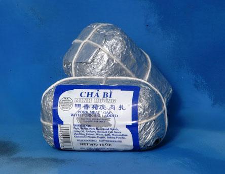 Minh Huong Pork Meat Loaf with Pork Skin Added