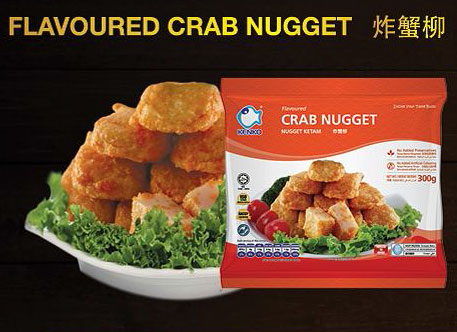 Flavoured Crab Nugget