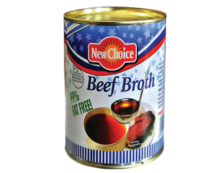 New Choice Beef Broth