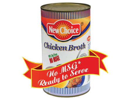 New Choice Chicken Broth no MSG