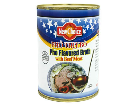 Pho Flavored Broth with Beef Meat